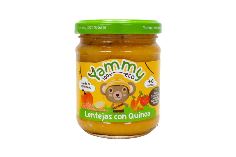 Alimentación ecológica para bebés Yammy