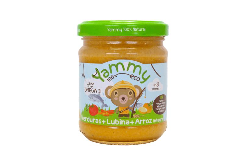 Tarritos para bebés Yammy