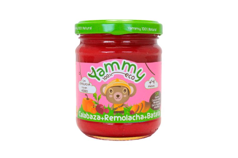 Tarritos ecológicos para bebés Yammy