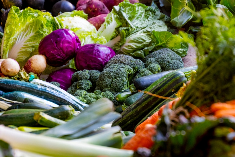 Verduras y hortalizas ecológicas de temporada