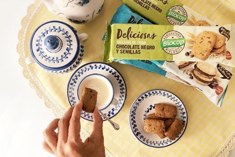 Nuevas galletas Deliciosas de Biocop