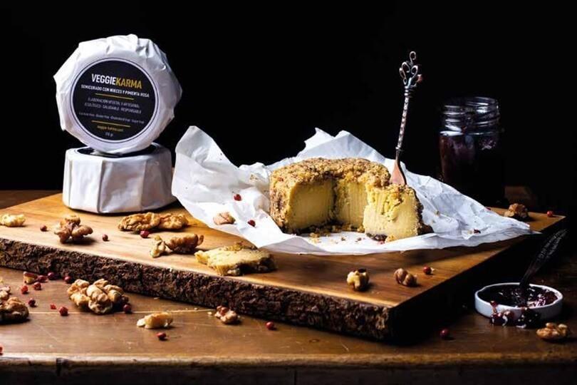 Comer vegano sin renunciar al sabor del mejor queso artesano